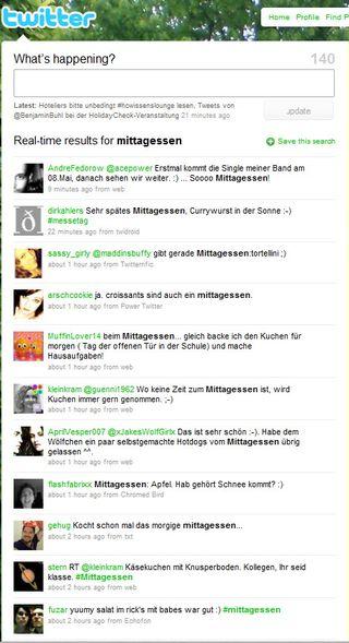 Twittermittagessen